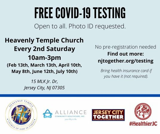 free covid testing bg